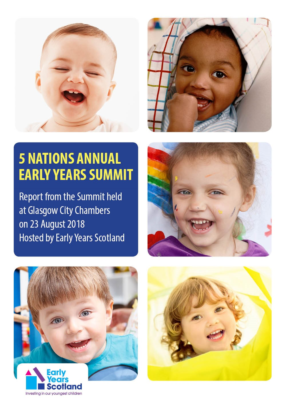 Read the first ever 5 Nations Early Years Summit Report