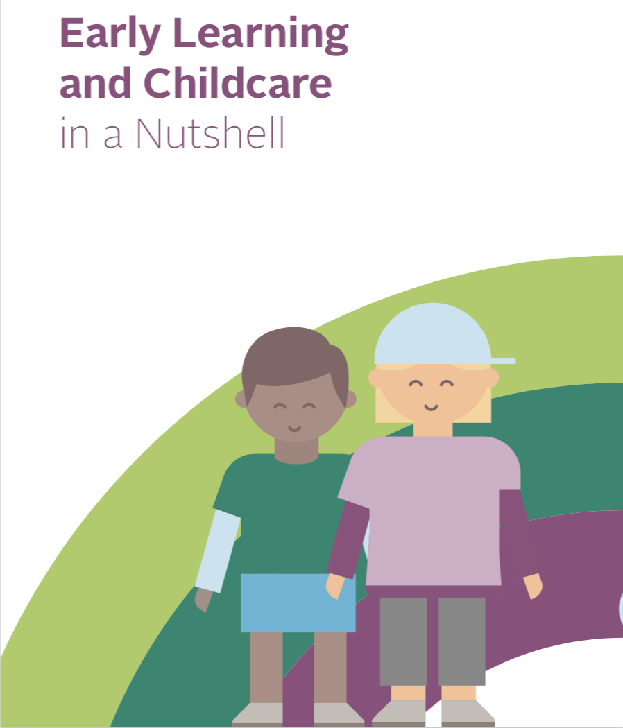 Free 'Early Learning and Childcare in a Nutshell' leaflet