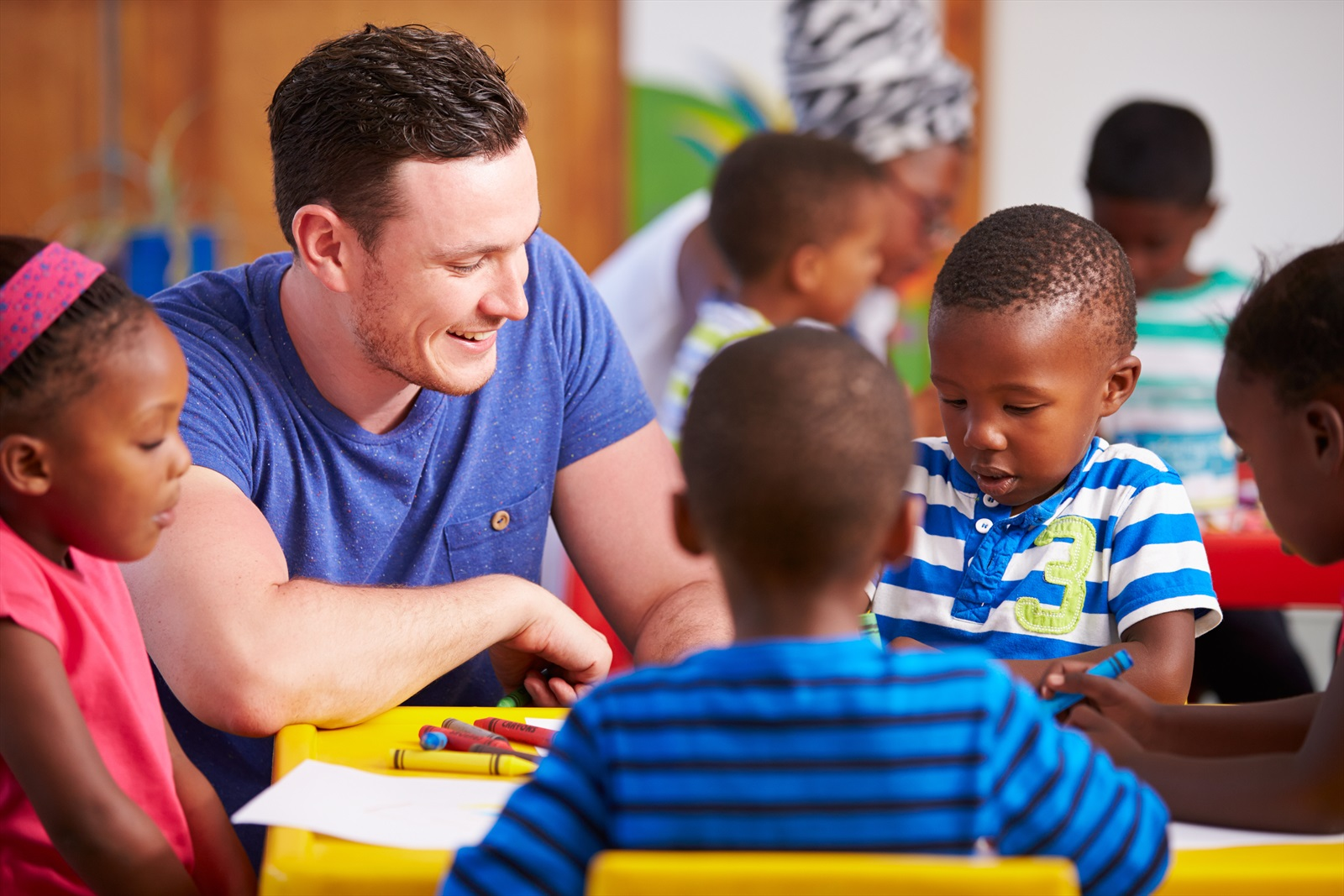 Getting men into Early Learning and Childcare