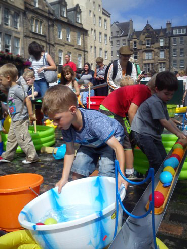 Come and join Early Years Scotland at Edinburgh's Playday