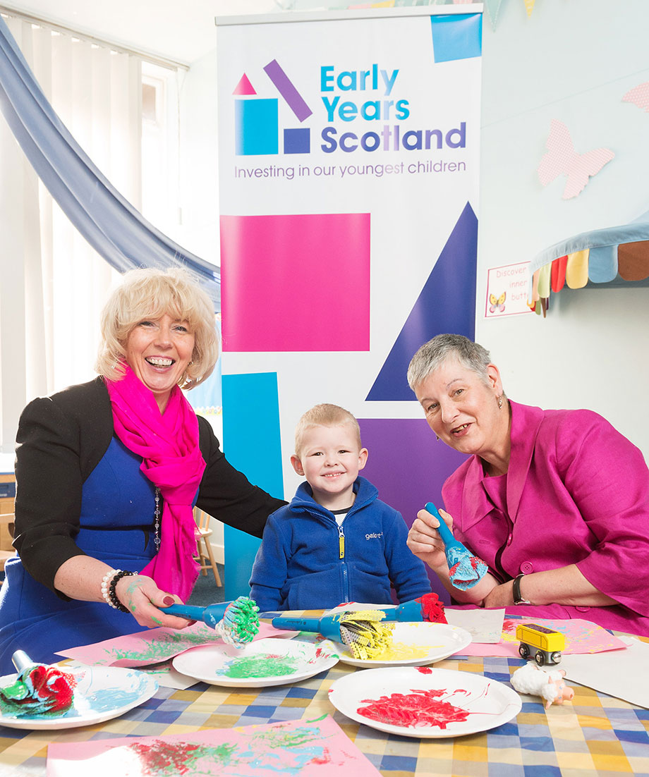 Children's Minister Launches Early Years Scotland