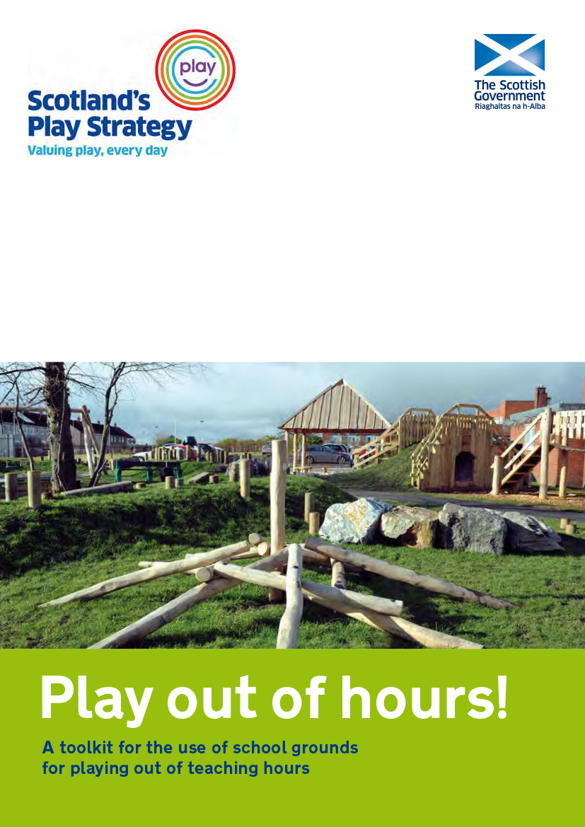 'Play out of hours' toolkit published